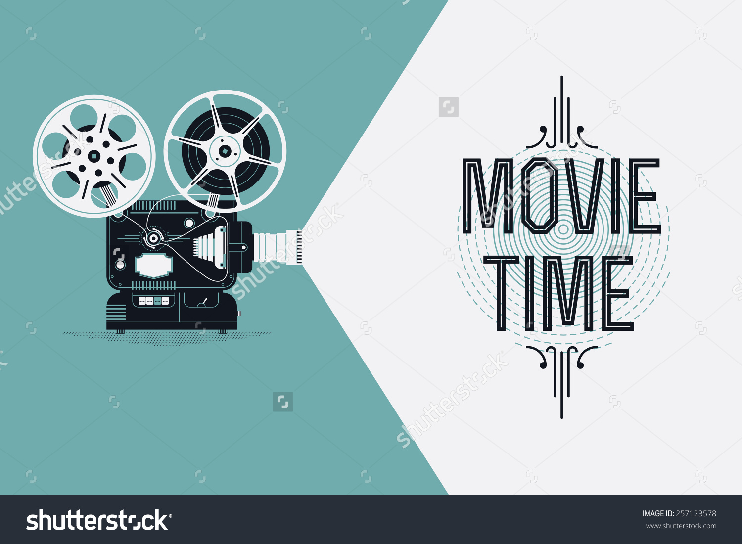stock-vector-cool-retro-movie-projector-vector-detailed-poster-leaflet-or-banner-template-with-sample-text-257123578.jpg
